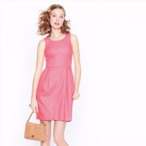 J. Crew Coral Basketweave Shift Dress | Sz 8